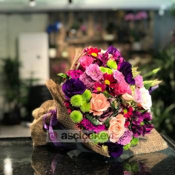 Bebek Çiçek Buketi