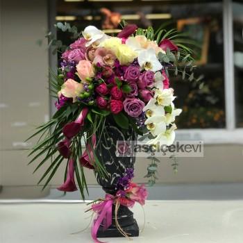 Canlı Çiçek Aranjman Modelleri
