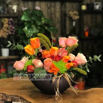 Farklı Çiçeklerden Oluşan Bir Koleksiyon