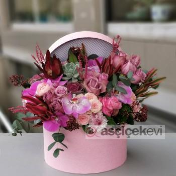 Kutuda Çiçek Aranjman