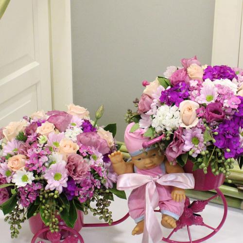 Bebişe Çiçekler Getirdim alt