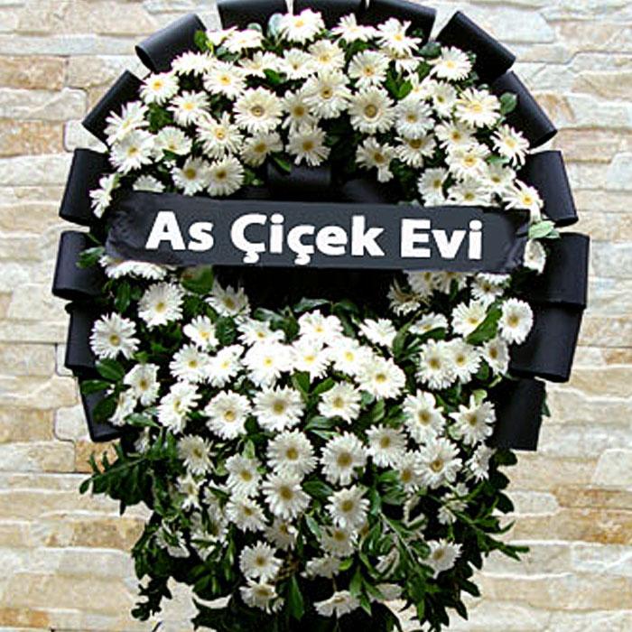 Beyaz Cenaze Çelengi alt