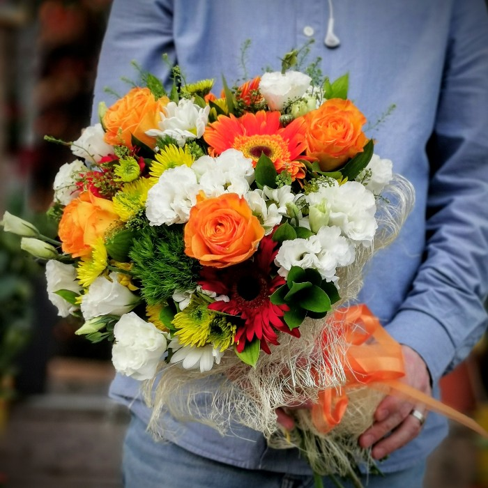 Teşvikiye Çiçek Buketi