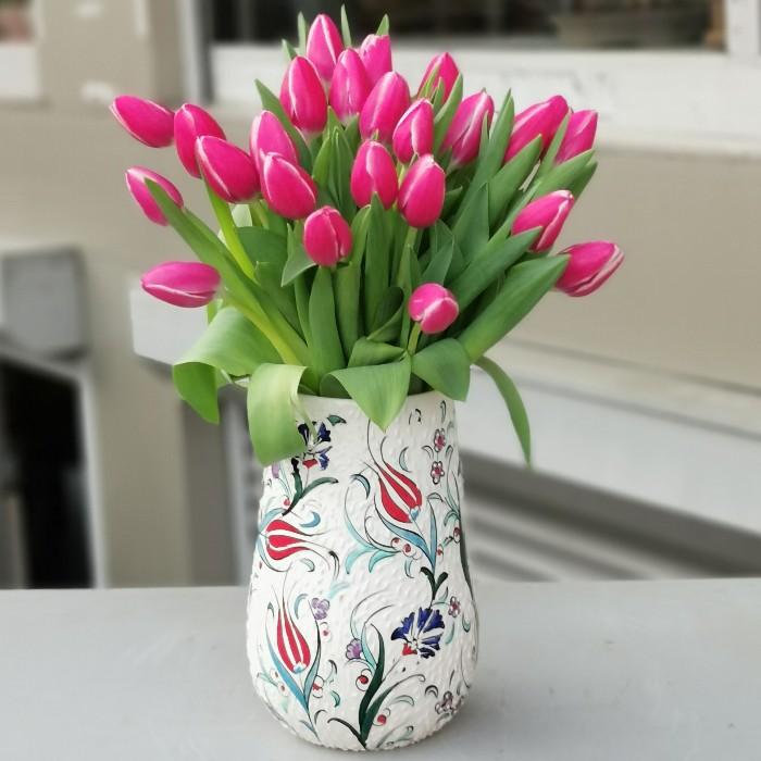 Kütahya Serisi - Columbus Tulips alt