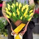 Sıcak Sevgi Sarı Lale Buketi