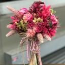Zeugma Kuru Çiçek Gelin Buketi