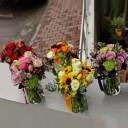 Rengarenk Çiçek Vazoları