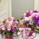 Bebişe Çiçekler Getirdim