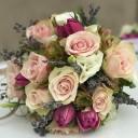 Güller ve Lavantalar Gelin Buketi
