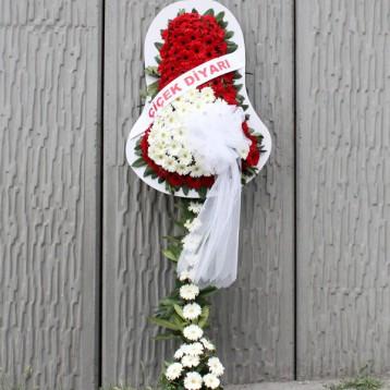 Kırmızı Beyaz Gelin Duvağı