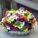 Kır Çiçekleri Sepeti