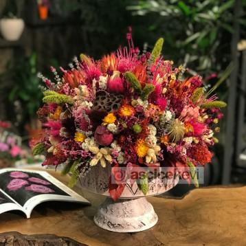 Ibradı Kuru Çiçek Tanzim