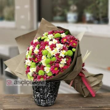 Kokulu Çiçek Buketi