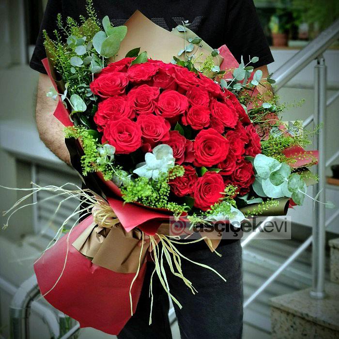 Kırmızı Güller