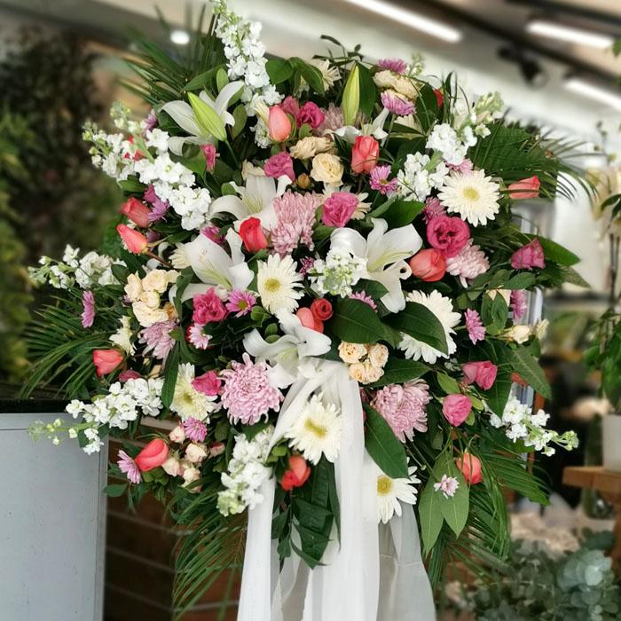 Düğün İçin Ferforje Çiçek alt