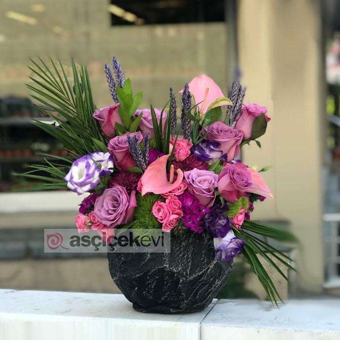 Taştaki Çiçekler