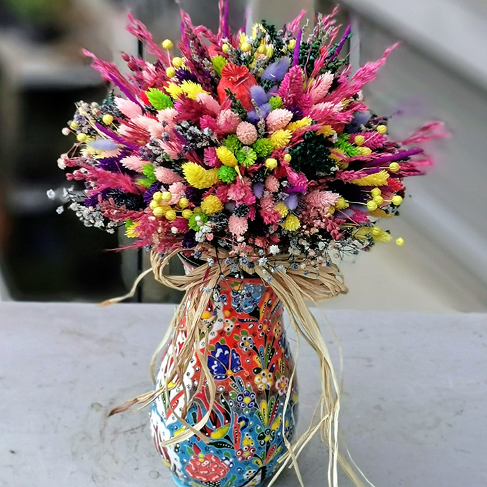 Kütahya Serisi Kuru Çiçek alt