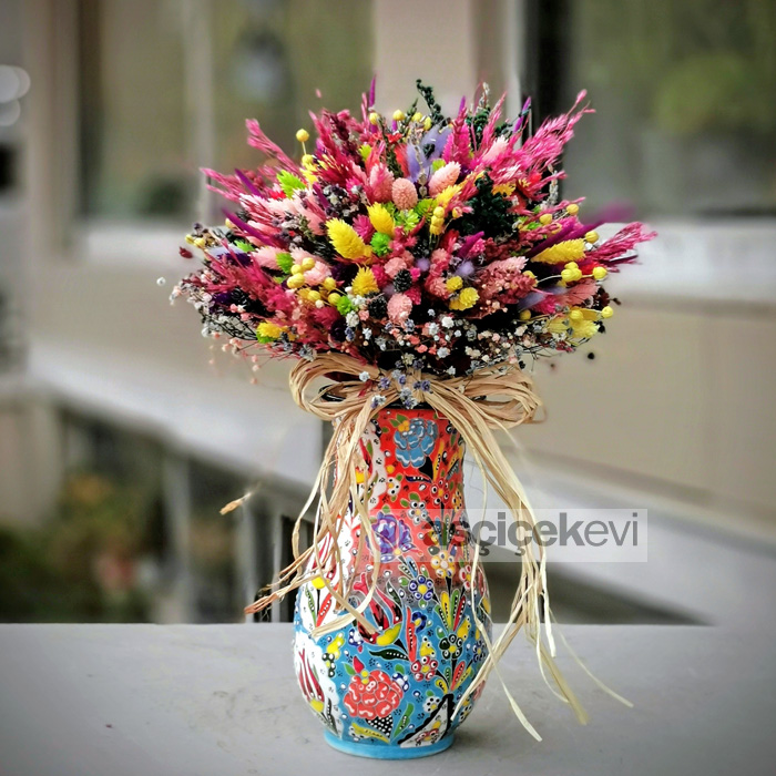 Kütahya Serisi Kuru Çiçek
