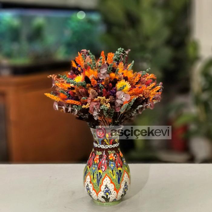 Kütahya Serisi Sonbahar Kuru Çiçek