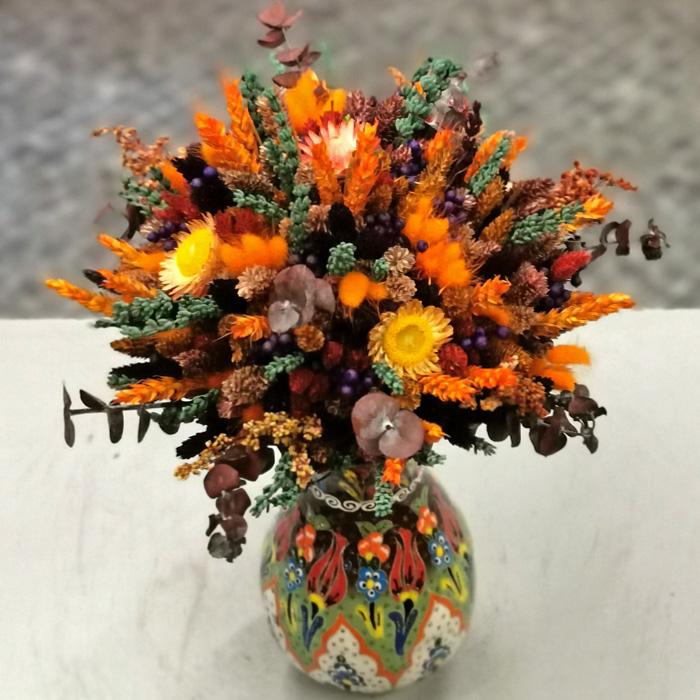 Kütahya Serisi Sonbahar Kuru Çiçek alt