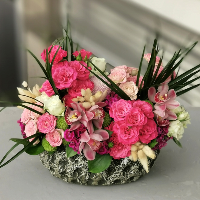 Orkide ve Mini Güller alt