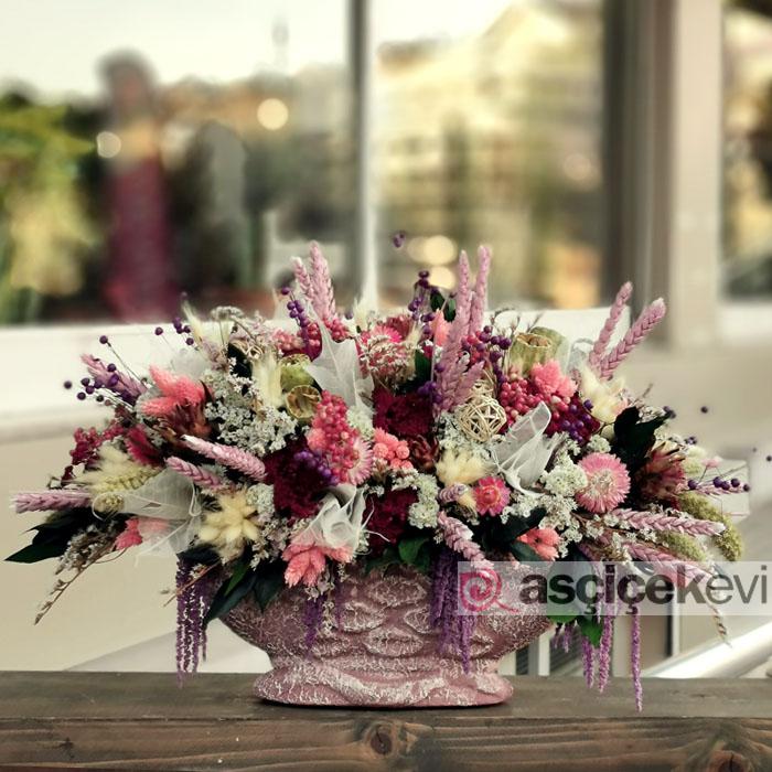 Karakışla Kuru Çiçek Aranjman