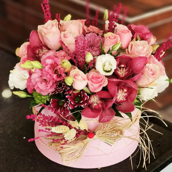 Kutuda Güller ve Orkideler alt