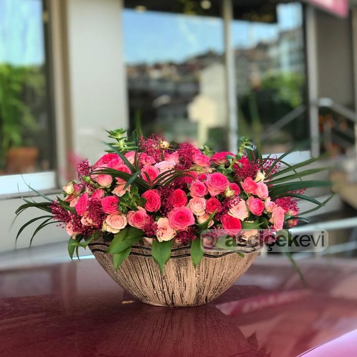 Pembe Mini Güller
