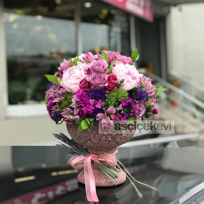 Şakayıklar ve Mevsim Çiçekleri