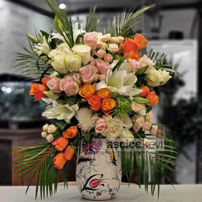 Kütahya Serisi Lilyum ve Güller