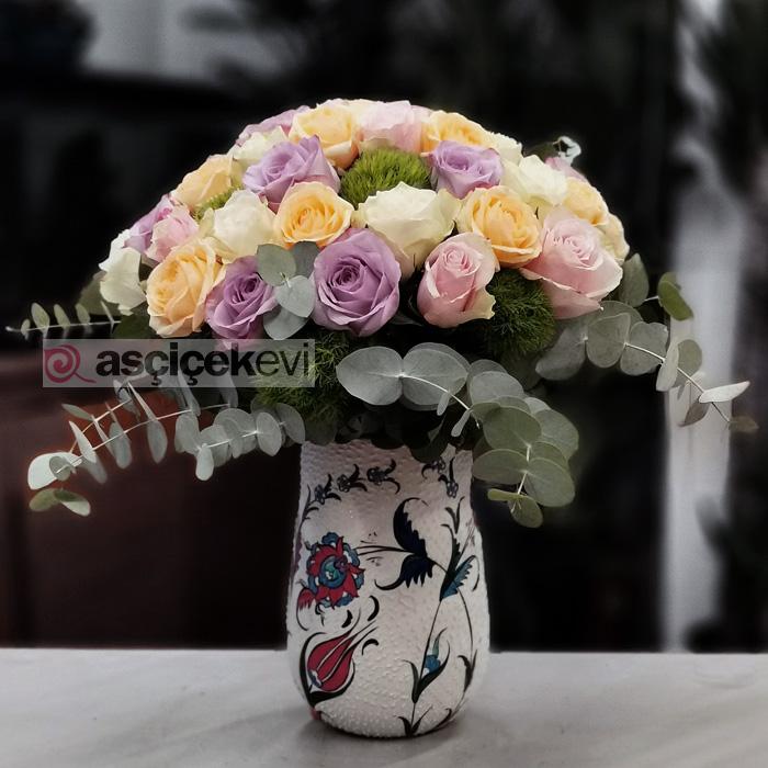Kütahya Serisi Pastel Güller