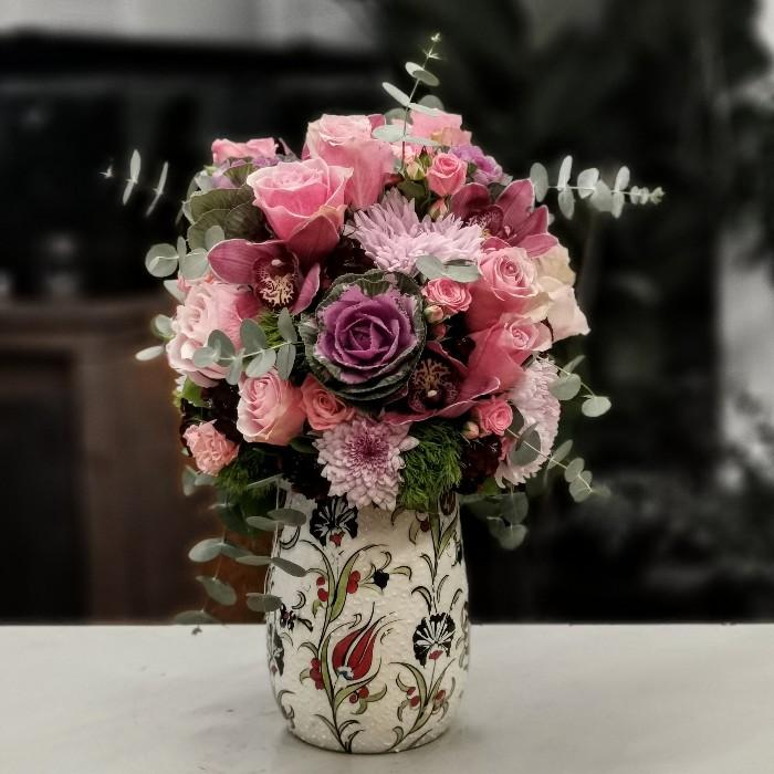 Kütahya Serisi Pembe Güller
