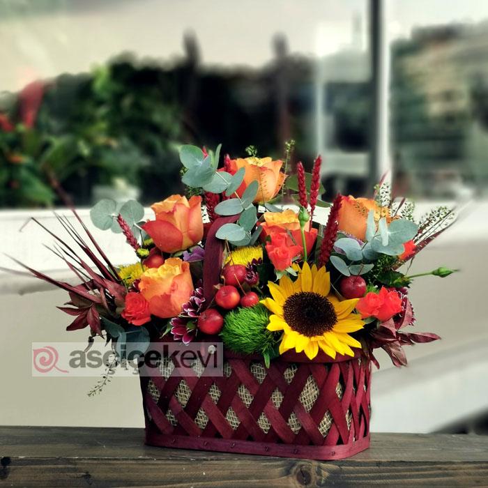 Çiçek Sepeti - Sonbahar