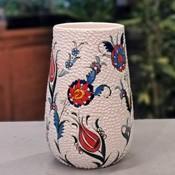El İşlemesi Çini vazo
